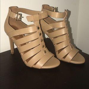 ALDO beige heels